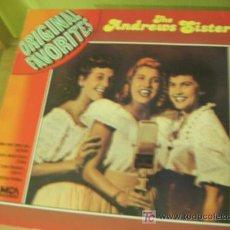 Discos de vinilo: THE ANDREWS SISTERS ( ORIGINAL FAVORITES ) 1971 ALEMANIA. Lote 12310372
