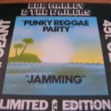 Discos de vinilo: BOB MARLEY AND THE WAILERS ( PUNKY REGGAE PARTY )1977 MAXI SINGLE FRANCIA ( RARO ). Lote 26556986