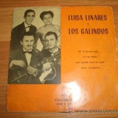 Discos de vinil: LUISA LINARES Y LOS GALINDO. Lote 12328481