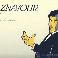 Discos de vinilo: CHARLES AZNAVOUR LP L´ELAN VOL 2 AU CREAUX DE MON EPAULE 1989 VER FOTO ADICIONAL. Lote 12332084