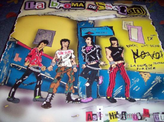 LA BROMA DE SATAN: ASI HICIMOS LA GUERRA LP12 REEDICION DE SU MITICO MAXI CON 2 TEMAS EXTRAS (Música - Discos de Vinilo - Maxi Singles - Punk - Hard Core)