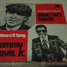 Discos de vinilo: SAMMY DAVIS JR. ( BARETTA'S THEME - I HEARD A SONG ) USA-1976 SINGLE45 20 CENTURY. Lote 18071976