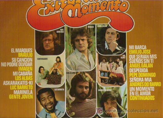 EXITOS DEL MOMENTO - LOS ALBAS / GENTE JOVN / IMAGEN COTINUADOS *LP BELTER 1976 (Música - Discos - LP Vinilo - Grupos Españoles de los 70 y 80)