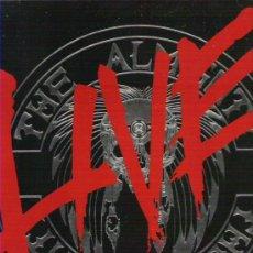 Discos de vinilo: THE ALMIGHT - BLOOD , FIRE & LOVE LVE + ENCARTE 1990 EDICION HOLANDESA. Lote 12358815