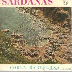 Discos de vinilo: EP SARDANES - COBLA BARCELONA - GIRONA AIMADA . Lote 21123352