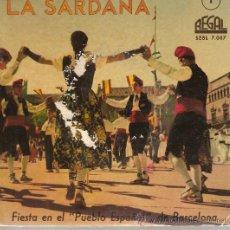Discos de vinilo: EP SARDANES - LA PRINCIPAL DE LA BISBAL + COBLA GIRONA. Lote 21139091