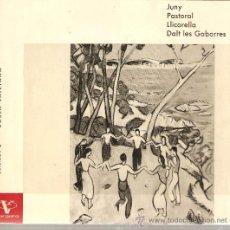 Discos de vinilo: EP SARDANES - COBLA LAIETANA - GARRETA - JUNY . Lote 21162962