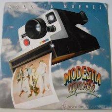 Discos de vinilo: MODESTIA APARTE - COMO TE MUEVES - SINGLE PROMO . Lote 12355200