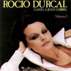Discos de vinilo: ROCIO DURCAL CANTA A JUAN GABRIEL. Lote 25729406