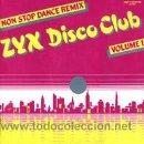 Discos de vinilo: Z Y X DISCO CLUB. Lote 26968538