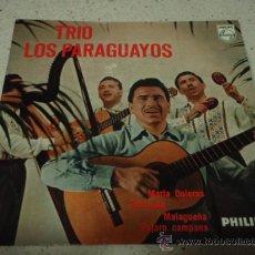 Discos de vinilo: TRIO LOS PARAGUAYOS (MARIA DOLORES - SERENATA - MALAGUEÑA PAJARO CAMPANA) EP45 HOLANDA. Lote 12383896
