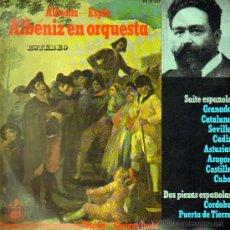 Discos de vinilo: ALBENIZ EN ORQUESTA . ORQUESTA DE CONCIERTOS DE MADRID . ENRIQUE JORDA. Lote 12390890