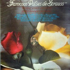 Discos de vinilo: FAMOSOS VALSES DE STRAUSS LP. Lote 12390984