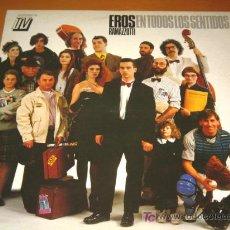 Discos de vinilo: EROS RAMAZZOTTI - EN TODOS LOS SENTIDOS - LP - HIAPAVOX / DDD 1990 SPAIN - COMO NUEVO / N MINT. Lote 25024348