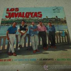 Discos de vinilo: LOS JAVALOYAS ( PARADISE OF LOVE - AVE MARIA EN EL MORRO - LES MONTANYES - MALLORCA BELLA ) 1964 . Lote 12397420