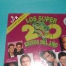 Discos de vinilo: LOS 20 SUPEREXITOS DEL AÑO. Lote 27560638