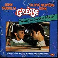 Discos de vinilo: GREASE. JOHN TRAVOLTA OLIVIA NEWTON - JOHN. Lote 23896578