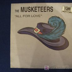 Discos de vinilo: THE MUSKETEERS - ALL FOR LOVE - MAXISINGLE 1994. Lote 12413247
