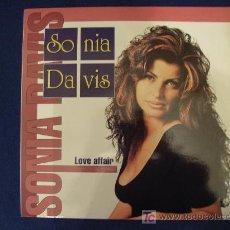 Discos de vinilo: SONIA DAVIS - LOVE AFFAIR (5 VERSIONES) - MAXISINGLE 1995. Lote 12413313