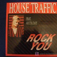 Discos de vinilo: HOUSE TRAFFIC FEAT. ARETA DAY - ROCK YOU - MAXISINGLE 1993. Lote 12413384