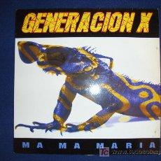 Discos de vinilo: GENERACION X - MA MA MARIA (2 VERSIONES) / MA MA MIA! - MAXISINGLE 1995. Lote 12413954