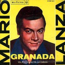 Discos de vinilo: MARIO LANZA . Lote 26644296