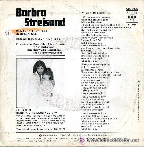 Discos de vinilo: BARBRA STREISAND. WOMAN IN LOVE - Foto 2 - 21750381