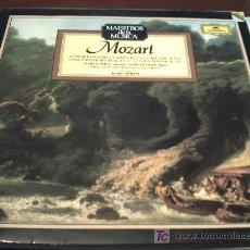 Discos de vinilo: MOZART/CONCIERTO PARA CLARINETE EN LA MAYOR K622/PARA FLAUTA Nº1EN SOL MAYOR K313. Lote 12415575