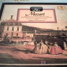 Discos de vinilo: MOZART /SINFONIA Nº40 EN SOL MENOR K550/SINFONIA Nº41 EN DO MAYOR K551 JUPITER. Lote 12416771