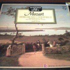 Discos de vinilo: MOZART/CONCIERTO PARA VIOLIN Nº3 EN SOL MAYOR K216/Nº4 EN R MAYOR K218. Lote 12428543