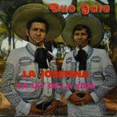 Discos de vinilo: DUO GALA - LA JOSEFINA . Lote 89561643