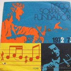 Discos de vinilo: ORFEON INFANTIL DE ESPAÑA - VILLANCICOS - EP SORPRESA FUNDADOR -. Lote 12430948