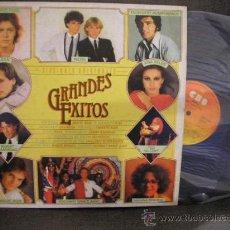 Discos de vinilo: UXV GRANDES EXITOS DISCO LP NUEVO VERSIONES ORIGINALES TOZZI PECOS IVAN BELEN ROSELL BOSE NUGENT1981. Lote 26428566