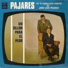 Discos de vinilo: ANDRES PAJARES EP SELLO EMI-REGAL AÑO 1969 CON JOSE LUIS PECKER. Lote 12458160