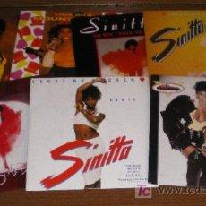 Discos de vinilo: LOTE 7 SINGLES DE SINITTA. Lote 21247145