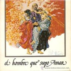 Discos de vinilo: BANDA SONORA DEL FILM EL HOMBRE QUE SUPO AMAR EP SELLO COLUMBIA AÑO 1975. Lote 12458171