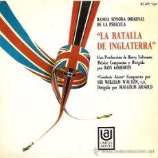 Discos de vinilo: BANDA SONORA DEL FILM LA BATALLA DE INGLATREEA EP SELLO UNITED ARTISTS AÑO 1969. Lote 12458225