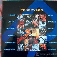 Discos de vinilo: LP - RESERVADO - VARIOS - DOBLE DISCO, ORIGINAL ESPAÑOL, GASA RECORDS 1993. Lote 13590348