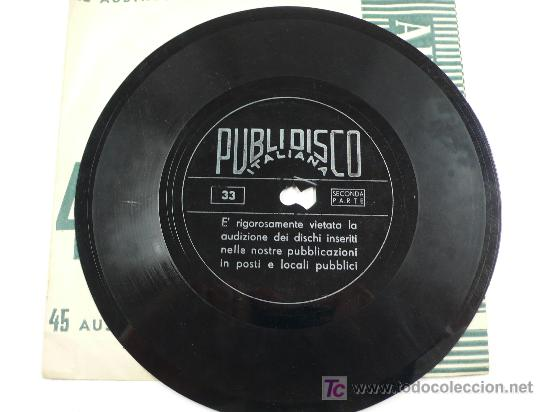 BENITO MUSSOLINI. DISCORSO 5 MAGGIO 1936. (Música - Discos - Singles Vinilo - Otros estilos)