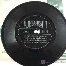 Discos de vinilo: BENITO MUSSOLINI. DISCORSO 5 MAGGIO 1936.. Lote 13461121