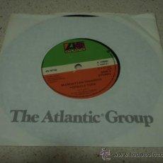 Discos de vinilo: MANHATTAN TRANSFER ( CHANSON D'AMOUR - POPSICLE TOES ) USA-1976 SINGLE45 ATLANTIC. Lote 12471676