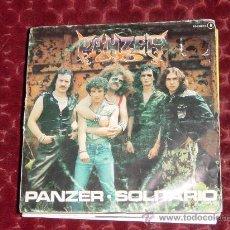 Discos de vinilo: PANZER. SOLITARIO. DISCO PROMOCIONAL. CHAPA DISCO 1982. VINILO IMPECABLE. Lote 12472431