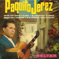 Discos de vinilo: PAQUITO JEREZ EP SELLO BELTER AÑO 1965. Lote 12473345