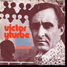 Discos de vinilo: VICTOR YTURBE - VEN, VEN MI AMOR / FELICIDAD - 1973. Lote 12481876