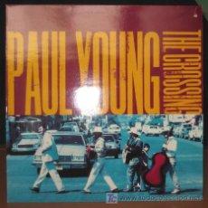 Discos de vinilo: PAUL YOUNG - THE CROSSING - LP - COLUMBIA 1993 UK - CON LETRAS - COMO NUEVO / N MINT. Lote 23509042