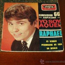 Discos de vinilo: RAPHAEL EP YO SOY AQUEL PORTADA DIFERENTE FRANCES. Lote 21993454
