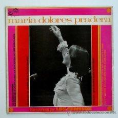 Discos de vinilo: MARIA DOLORES PRADERA ··· ACOMPAÑADA DE LOS GEMELOS - (LP 33 RPM). Lote 25165814