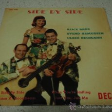 Discos de vinilo: ALICE BABS, SVEND ASMUSSEN & ULRIK NEUMANN (SIDE BY SIDE - GO CHASE A MOONBEAM - JUST YOU, JUST ME -. Lote 12534857