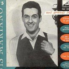 Discos de vinilo: LUIS MARIANO / MES GRANDS SUCCES / 25 CM 10 PULGADAS/ LA VOIX DE SON MAITRE. Lote 20428280