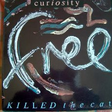 Discos de vinilo: MAXI - CURIOSITY KILLED THE CAT - FREE (3 VERSIONES) - MERCURY RECORDS 1987. Lote 12567456